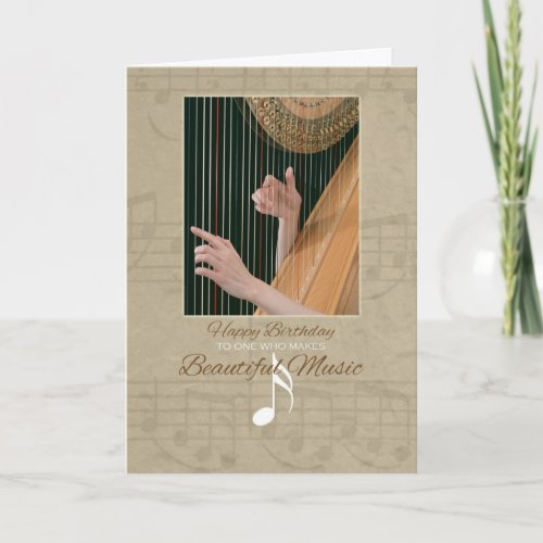 Happy Birthday for Music Lover Greeting Card
