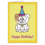 Happy Birthday From All of Us with Bulldog Card