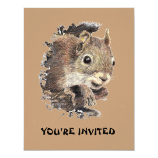 Happy Birthday from all us NUTS Cute Squirrel Card