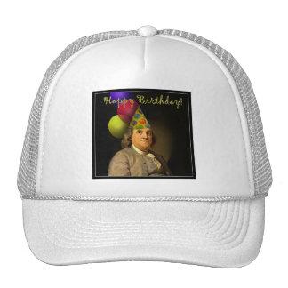 Happy Birthday from Ben Franklin Trucker Hat