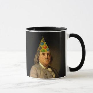 Happy Birthday  From Ben Franklin Mug