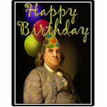 Happy Birthday from Ben Franklin Photo Cut Outs