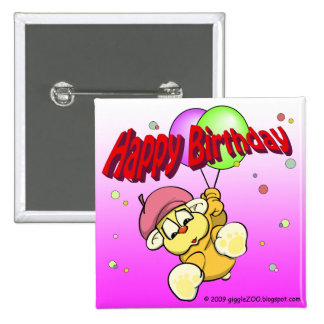 Happy Birthday from giggleCubby Button
