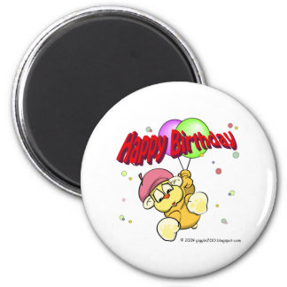 Happy Birthday from giggleCubby Magnet