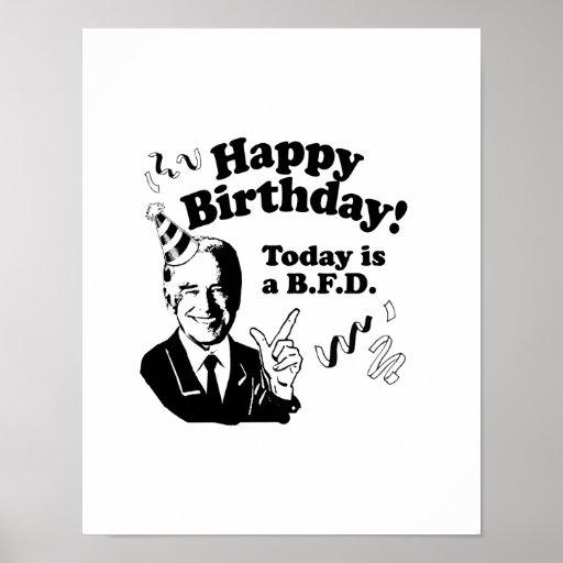 HAPPY BIRTHDAY FROM JOE BIDEN.png Poster