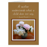 Happy Birthday From Son Peonies Card