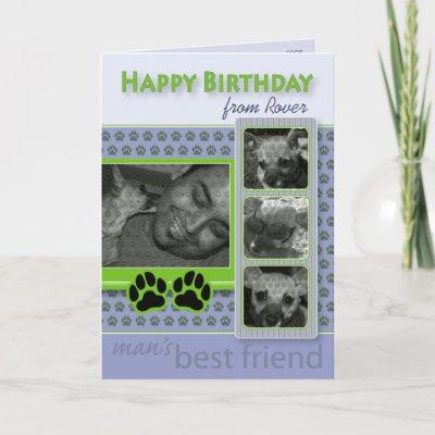 Happy Birthday Doggy. Happy Birthday From the Dog