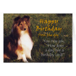 Happy Birthday from the Dog Card