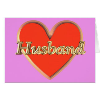 Happy Birthday from wife to husband Birthday wish Card
