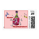 Happy Birthday Funny Cartoon Berry Custom Stamps