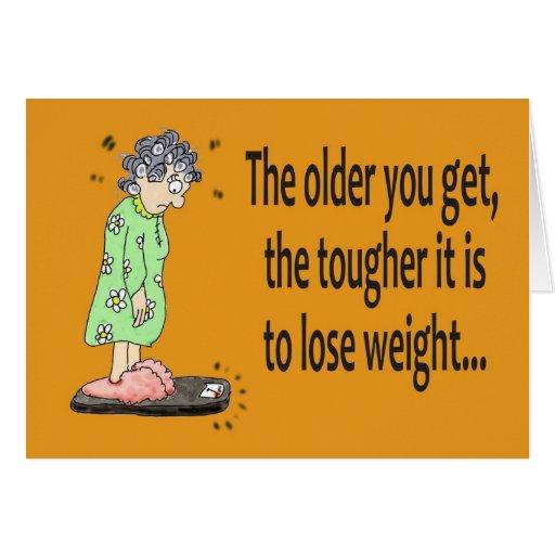Happy Birthday Funny Comic Jokes: Happy Birthday Funny Humor Lose Weight Card