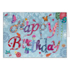 Happy Birthday Funny Letters | Greeting Card