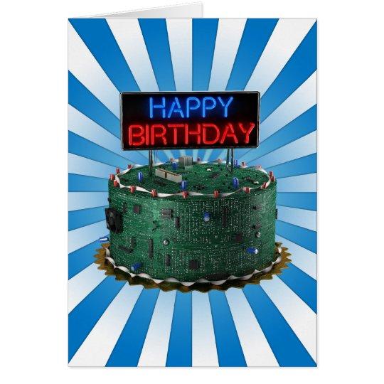 Happy Birthday, Geek Card