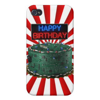 Happy Birthday, Geek Case For iPhone 4