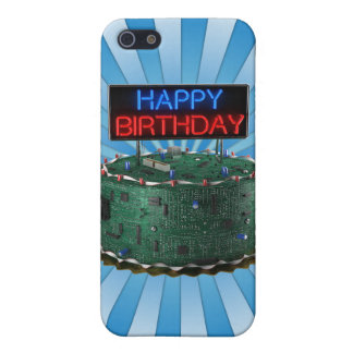 Happy Birthday, Geek Case For iPhone 5