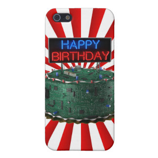Happy Birthday, Geek Cover For iPhone 5