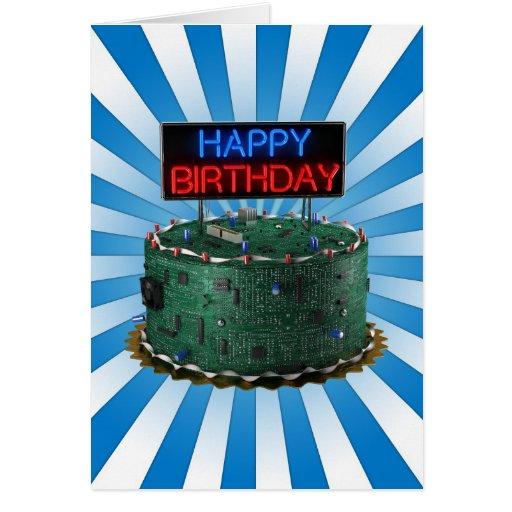 Happy Birthday, Geek Greeting Card