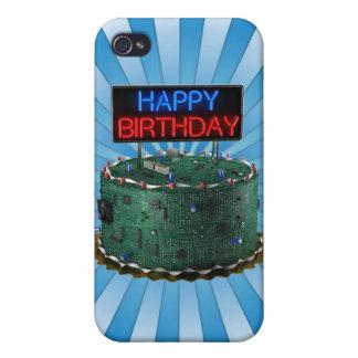 Happy Birthday, Geek iPhone 4 Cases