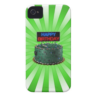 Happy Birthday, Geek iPhone 4 Cover