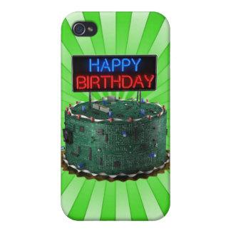 Happy Birthday, Geek iPhone 4 Covers