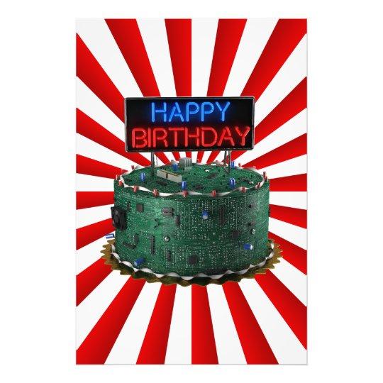Happy Birthday, Geek Photo Print