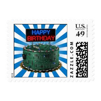 Happy Birthday Geek Postage