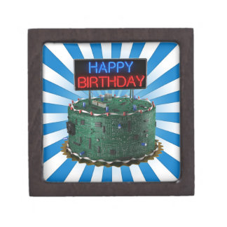 Happy Birthday, Geek Premium Trinket Box
