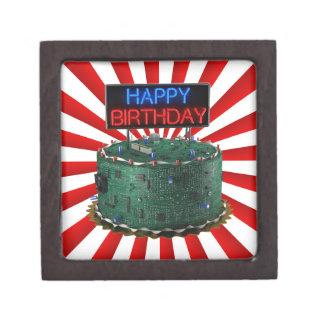 Happy Birthday, Geek Premium Keepsake Box