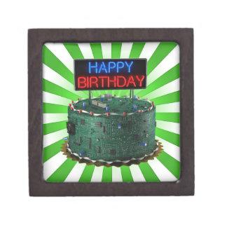 Happy Birthday, Geek Premium Keepsake Boxes