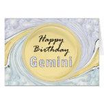 Happy Birthday Gemini Card