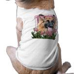 Happy Birthday - German Shepherd - Long Haired Dog Tee Shirt