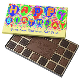 Happy Birthday gift 45 Piece Box Of Chocolates