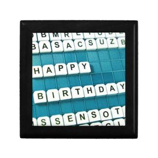 Happy Birthday Trinket Boxes