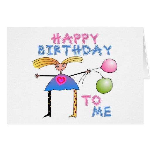 Happy Birthday Gift Greeting Card