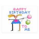 Happy Birthday Gift Postcard