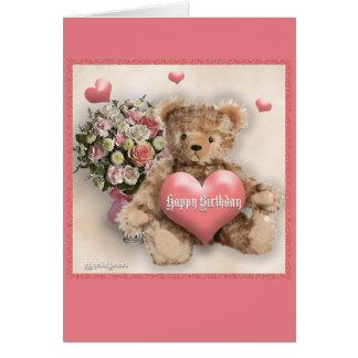 Happy Birthday - Girl Greeting Card