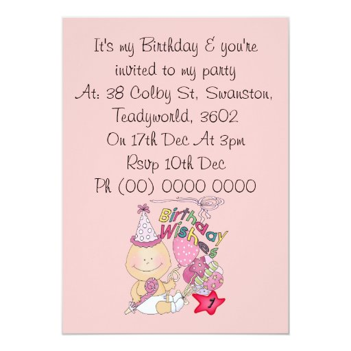 happy_birthday_girl_wishes_1_year_old_invitation ...