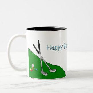Happy Birthday Golf & Bowling Mug