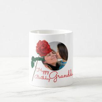 Happy Birthday Granddaughter custom photo text mug