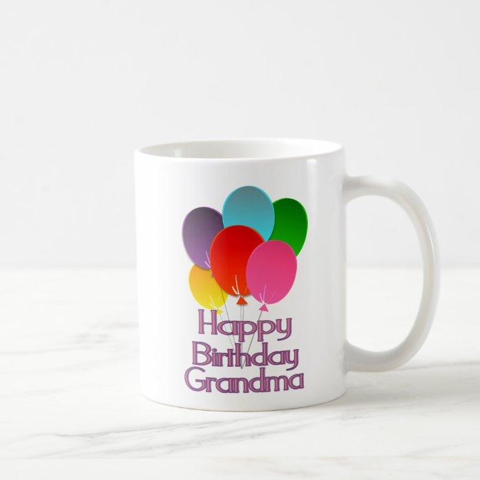 Happy Birthday Grandma Coffee Mug