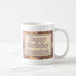 Happy Birthday Grandma Coffee Mug