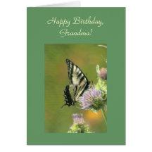 Happy Birthday, Grandma Template Card