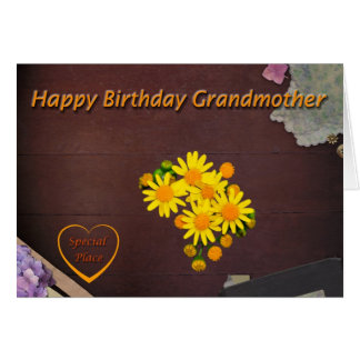 Happy Birthday Grandmother Card