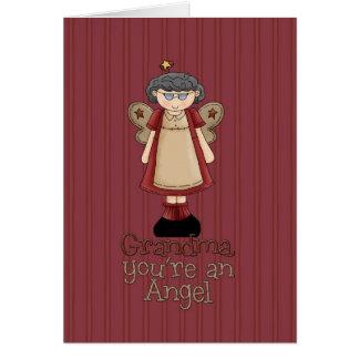 Happy Birthday Grandmother Greeting Card