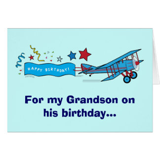 Birthday Wishes For A Grandson Greeting Cards Zazzle Happy Birthday Wishes To My Grandson