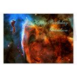 Happy Birthday Grandson - Keyhole Nebula Cards