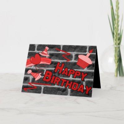happy birthday graffiti. Happy Birthday Grunge Graffiti
