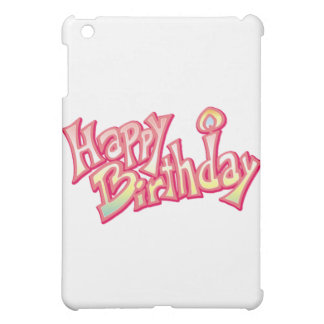 Happy Birthday Happy anniversary iPad Mini Cover
