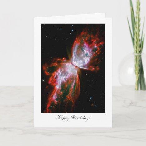 Happy Birthday, Happy Returns - Butterfly Nebula Card