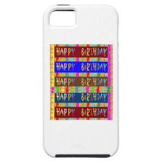 HAPPY Birthday HappyBirthday : Artistic Script iPhone 5 Covers
